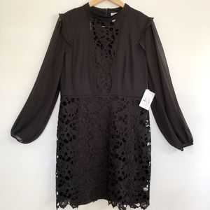 Kensie Black dress NWT Size L or 9